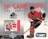 2002/03 Upper Deck SP Game Used Hockey Hobby Box
