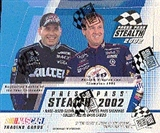 2002 Press Pass Stealth Racing Hobby Box