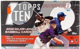 2002 Topps Ten Baseball Hobby Box