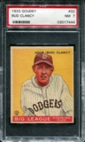 1933 Goudey Baseball #32 Bud Clancy PSA 7 (NM) *7444