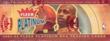 2003/04 Fleer Platinum Basketball Rack Box