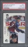 1998/99 SP Authentic Hockey #95 Milan Hejduk Rookie PSA 9 (MINT) *1158