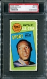 1970/71 Topps Basketball #113 Elgin Baylor All Star PSA 7 (NM) *3928