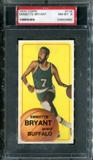 1970/71 Topps Basketball #116 Emmette Bryant PSA 8 (NM-MT) *3960