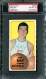1970/71 Topps Basketball #152 Don May PSA 8 (NM-MT) *3966