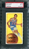 1970/71 Topps Basketball #155 Hal Greer PSA 7 (NM) *3967
