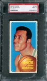 1970/71 Topps Basketball #143 Jo Jo White PSA 7 (NM) *4003