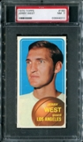 1970/71 Topps Basketball #160 Jerry West PSA 7 (NM) *4011