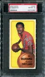 1970/71 Topps Basketball #132 Ed Manning PSA 8 (NM-MT) *5389