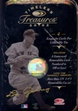 2003 Donruss Timeless Treasures Baseball Hobby Box (Tin)