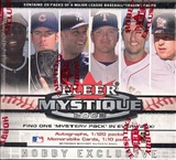2003 Fleer Mystique Baseball Hobby Box