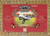 2003 Topps T-205 Series 2 Baseball Hobby Box