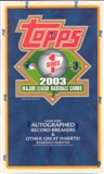 2003 Topps Series 1 Baseball 36 Pack Box
