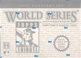 2003 Topps Tribute 100th Anniversary World Series Baseball Hobby Box