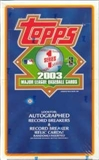 2003 Topps Series 1 Baseball Hobby Box