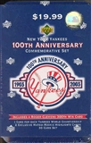 2003 Upper Deck New York Yankees 100th Anniversary Baseball Factory Set (Box)