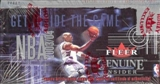 2003/04 Fleer Genuine Insider Basketball Hobby Box