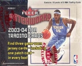 2003/04 Fleer Patchworks Basketball Hobby Box