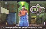 2003/04 Topps Rookie Matrix Basketball Hobby Box