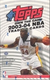 2003/04 Topps Basketball Hobby Box