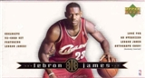 2003/04 Upper Deck LeBron James Basketball Set (box)