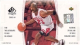 2003/04 Upper Deck SP Authentic Basketball Hobby Box