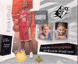 2003/04 Upper Deck SPx Basketball Hobby Box