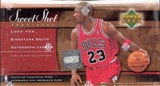 2003/04 Upper Deck Sweet Shot Basketball Hobby Box