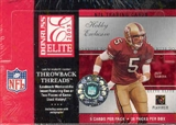 2003 Donruss Elite Football Hobby Box