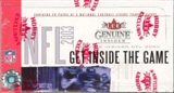 2003 Fleer Genuine Insider Football Hobby Box