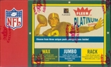 2003 Fleer Platinum Football Hobby Box