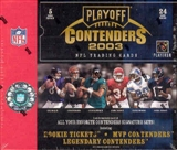 2003 Playoff Contenders Football Hobby Box