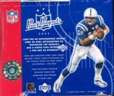 2003 Upper Deck Pros & Prospects Football Hobby Box