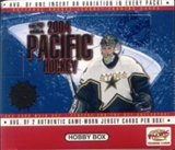 2003/04 Pacific Hockey Hobby Box