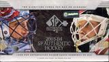 2003/04 Upper Deck SP Authentic Hockey Hobby Box