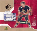 2003/04 Upper Deck SPx Hockey Hobby Box