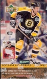 2003/04 Upper Deck Series 1 Hockey Hobby Box
