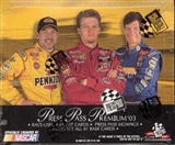 2003 Press Pass Premium Racing Hobby Box