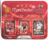 2003 Upper Deck Manchester United Strike Force Soccer Booster Box
