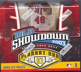 WOTC MLB Showdown 2003 Pennant Run Baseball Booster Box