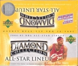 2004/05 Upper Deck All-Star Lineup Basketball 24-Pack Box
