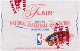 2004/05 Fleer Flair Basketball Hobby Box