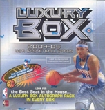 2004/05 Topps Luxury Box Basketball Hobby Box