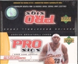 2004/05 Upper Deck Pro Sigs Basketball Hobby Box