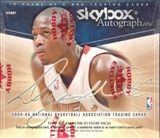 2004/05 Fleer Skybox Autographics Basketball Hobby Box