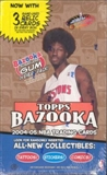 2004/05 Topps Bazooka Basketball Hobby Box