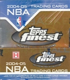 2004/05 Topps Finest Basketball Hobby Box