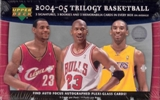 2004/05 Upper Deck Trilogy Basketball Hobby Box