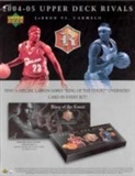 2004/05 Upper Deck Rivals Lebron James vs. Carmelo Anthony Basketball Set (Box)