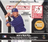 2004 Donruss Elite Extra Ed. Baseball Hobby Box